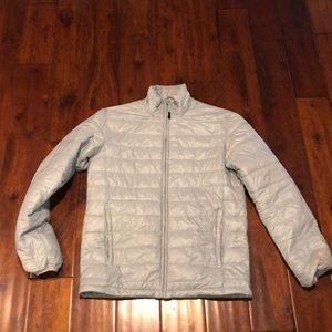 Light weight Athletech Grey/Silver Jacket
